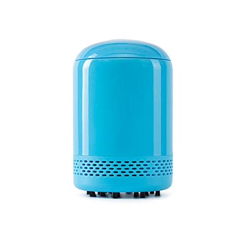 UPANV Mini Keyboard Vacuum Cleaner, Rechargeable Cordless Desk Vacuum Cleaner, Best Cleaner for Cleaning Dust,Hairs,Crumbs,Piano, Computer,Car and Pet House,Blue