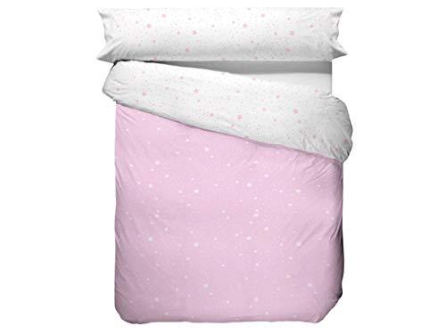 CAÑETE - Funda Nórdica KALO Cama 200 - Color Rosa