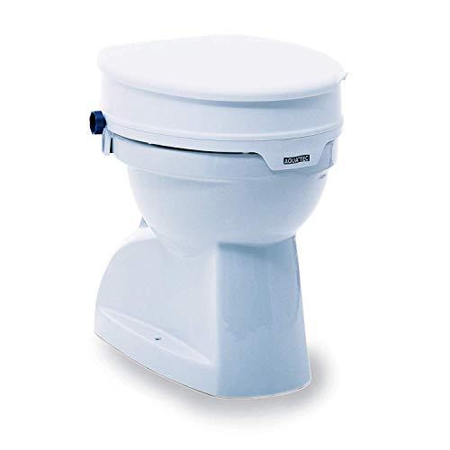 Invacare Aquatec 90, Aufsteckbare Toilettensitzerhöhung, 10cm