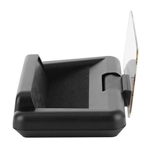 Wosune HUD con Espejo, proyector de Velocidad para automóvil, Pantalla Frontal para automóvil, Compatible con Kia Soul 1.6L L4 2010-2017, kilometraje por Viaje, Temperatura del Agua, Velocidad de