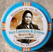 Medicine of the People, Sage Lavender and Juniper Beauty Balm