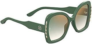 Elie Saab ES 030/S GREEN/GREEN SHADED 56/21/145 women Sunglasses