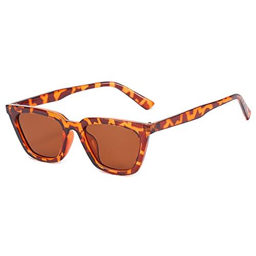 LUOXUEFEI Gafas De Sol Gafas De Sol Cuadradas Pequeñas Gafas De Mujer Gafas FemeninasSeñora
