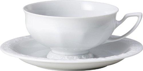 Rosenthal Tee-Set 2-tlg. Porzellan Porzellan weiss