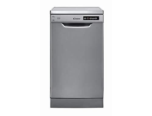 Lave vaisselle Candy CDP2D1047X-47 - Lave vaisselle 45 cm - Classe A++ / 47 decibels - 10 couverts - Inox bandeau : Silver - Pose libre