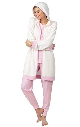 Addison Meadow Lounge Wear Women Sets - Womens Loungwear, Quilted, 3-Piece