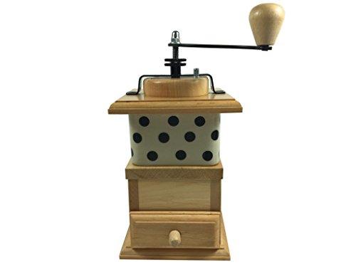 Sendez Handkaffeemühle Kaffeemühle Bunzlauer Mühle Porzellan Gewürzmühle Pfeffermühle