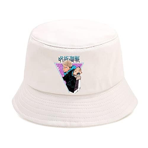 XIKA Jujutsu Kaisen cap Jujutsu Kaisen Bucket Hat Moda Unisex Punk Street...