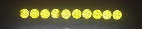 stickerslab – Jante autocollants réfléchissants réfléchissantes 10 pièces Diamètre 27 mm Cache boulons Cache écrous roues Camion