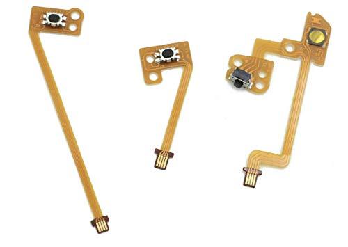 2 x L ZL ZR Button Ribbon Flex Kabel Modul Ersatz kompatibel mit Nintendo Switch Joy-Con Joycon