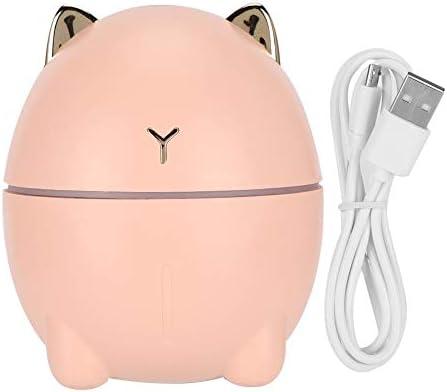 Qkissi 200ml USB Charging Air Water Sprayer Mini Cute Cat Shape Facial Steamer Desktop Face product image