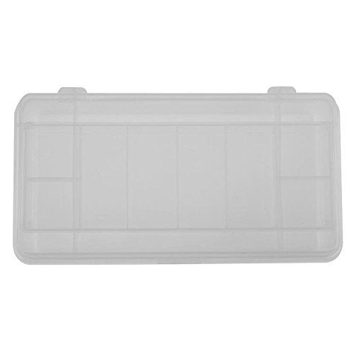 Caja de cebos de doble capa, 21 x 10,7 x 4,2 cm, una caja de herramientas multiusos que se puede utilizar de forma segura.