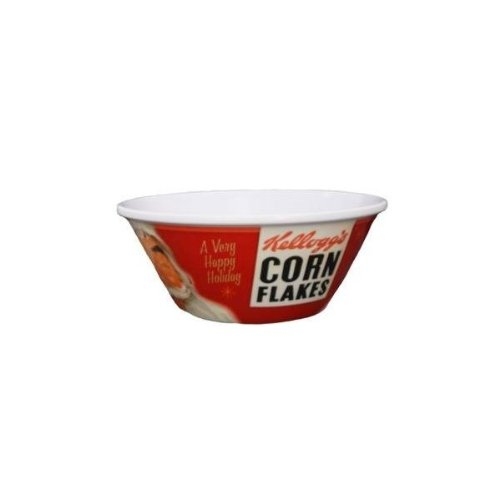 Holiday Corn Flakes Cereal Bowl