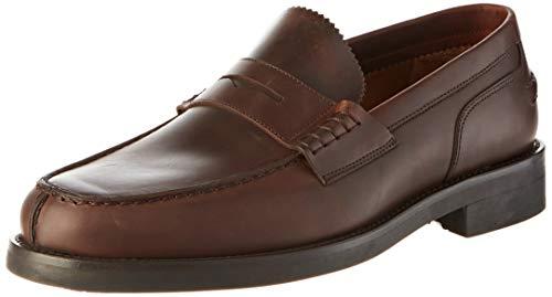 Lottusse L6902, Zapatos de Cordones Derby Hombre, Marrón (Chromex Brown Chromex Brown),...
