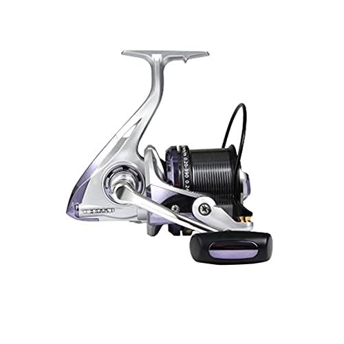 KCN Stradic CI4 8000 10000 12000 Rollar de Pesca de Hilado de Metal 12 + 1bb de Alta Velocidad 4.7: 1 X-Ship MGL Rotor Spinning Reel (Bearing Quantity : 12, Color : Silver Reel)
