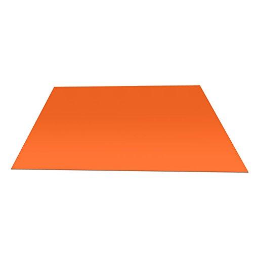 Alomejor Thermo-deken, 1 stuks, voor noodgevallen, waterdicht, overleving, reflecterende thermische emmergency blanket, opvouwbaar, oranje
