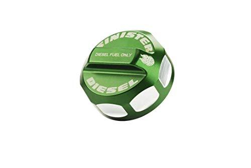 Sinister Diesel Fuel Cap for 2008-2020 Ford Powerstroke (Green)