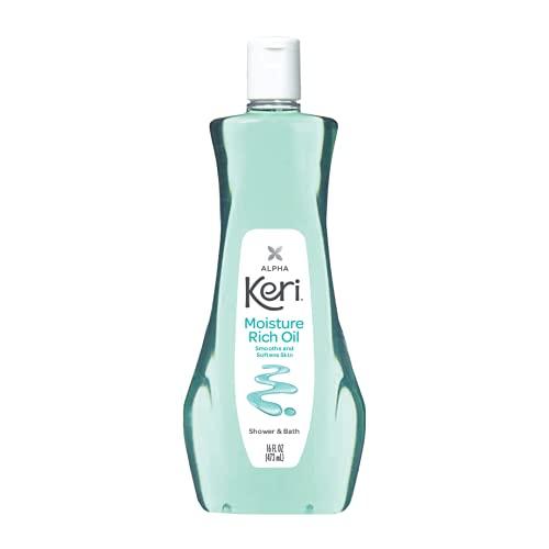Alpha Keri Shower & Bath Oil - Moisture Rich Body Oil 16 Ounces by Keri