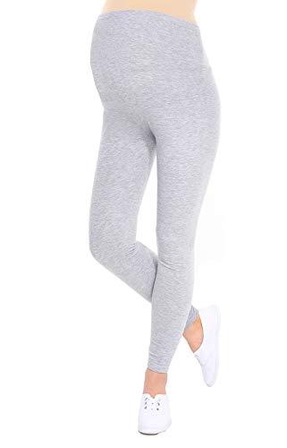 Oasi - leggings toute longueur de maternité de bonne qualité 95% Coton 3085 (EU 38, Melange)