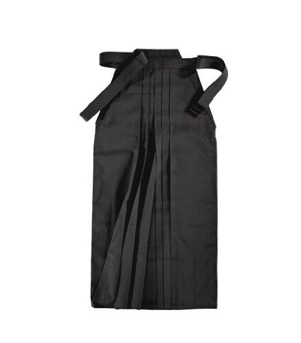 KWON Hakama clubline hakama - Hakama de artes marciales, tamaño 150, color negro