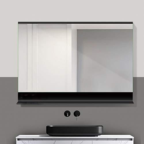 ZXXX Bad Wandspiegel Spiegel Kosmetikspiegel Spiegel Bad, Wohnzimmer, Schlafzimmer Silberrahmen