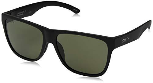 Smith Lowdown XL 2 Sunglasses Matte Black/ChromaPop Polarized Gray Green