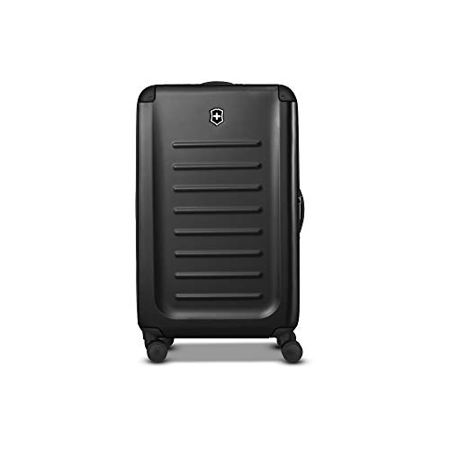 Victorinox Spectra 2.0 Hardside Spinner Suitcase, Black, Checked-Large...