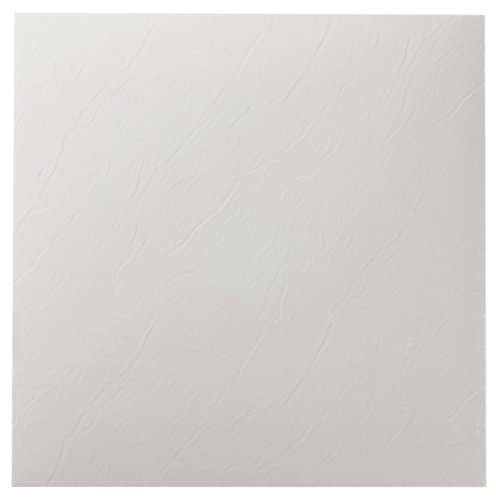 Achim Home Furnishings FTVSO10220 Nexus 12-Inch Vinyl Tile, Solid White, 20-Pack