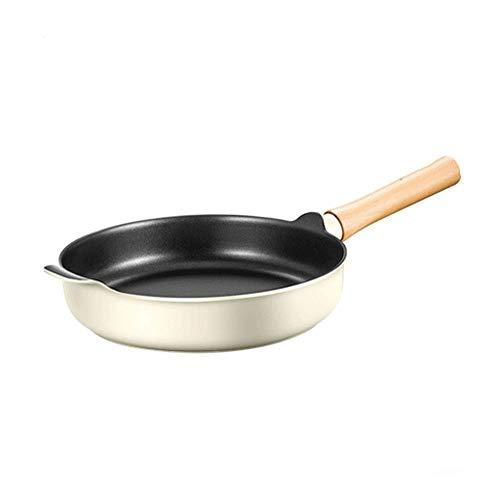 WCJ Eenvoudig huis Nonstick Inductie Compatibel Frying Pan, Skillet, Saute Pan, Steak Frying Pan,Minder dampen, Vaatwasser Safe Oven Veilig de beste keuze