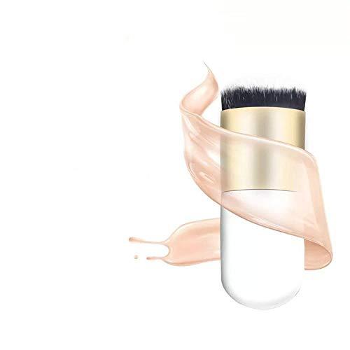 diamanstar Pinceau de Maquillage-3 pcs Pinceau en Poudre en Vrac avec Manche en Bois, Outil de Maquillage spécial pour maquilleur Professionnel débutant