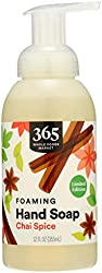 365 by Whole Foods Market, Hand Soap Foaming Chai Spice, 12 Fl Oz