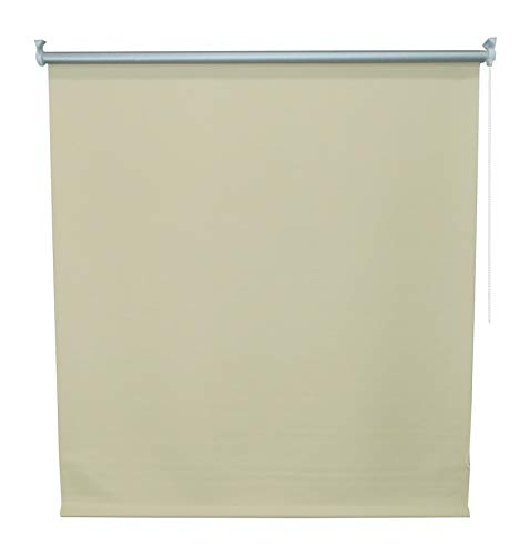 DECO Persiana Enrollable Blackout (Beige, 80 X 160)