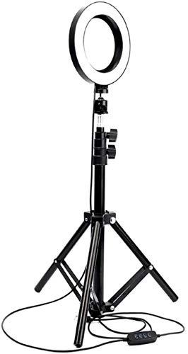 XXT Llenar el teléfono móvil de vídeo en Directo de Productos autofoto luz con Piso de Escritorio lámpara de luz de Relleno Soporte Soporte 20cm
