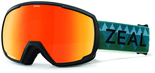 Zeal Nomad Pacific Moss ~ Phoenix Mirror Snow Goggles One Size Pacific Moss