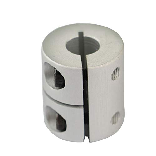 Actualización del Conector del enrutador de Acoplamiento rígido Flexible Cr-10 Eje Z 5X8X26Mm Acoplamiento del Eje de la mordaza 5Mm a 8Mm para Impresora 3D - Blanco