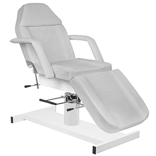 Activeshop Basic 210A - Camilla de masaje, soporta hasta 200 kg, piel sintética, 180 x 63 x 64-80 cm