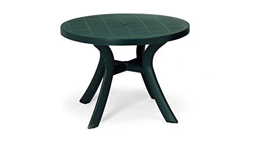 Best 18511030 Tisch Kansas rund 100 cm, grün