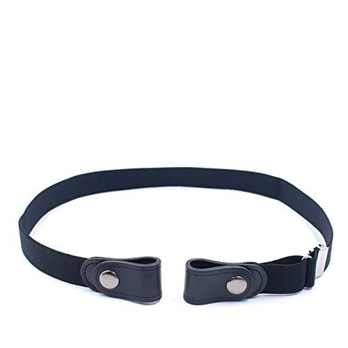 SENFEISM Cinturones para Mujer Cinturones para Mujer Pantalones Vaqueros de Cintura sin Hebilla Cinturón de Cintura elástica sin Hebilla para Hombres Invisible