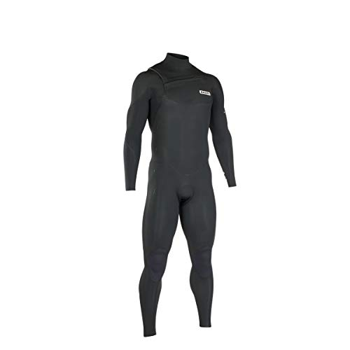 ION Heren wetsuit Onyx Core 4/3 FZ 2019 Black XS