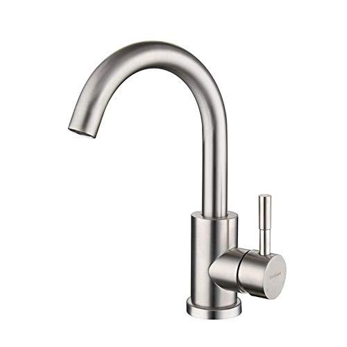 Wasserhahn Kalt-Und Warmwasser-Einloch-Waschtisch Waschbecken Waschbecken Keramik-Waschtisch Untere Waschtischarmatur