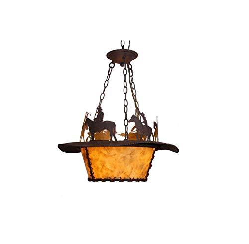 N/Z Inicio Equipo Candelabro Candelabro País Americano Iluminación Retro Restaurante Decoración Lámpara Tienda de Ropa Sala de Estar Bar Café Hotel Villa Club Candelabro (Tamaño: A)
