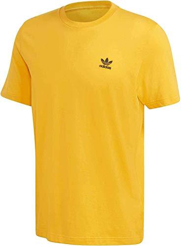 adidas Camiseta básica. dorado M