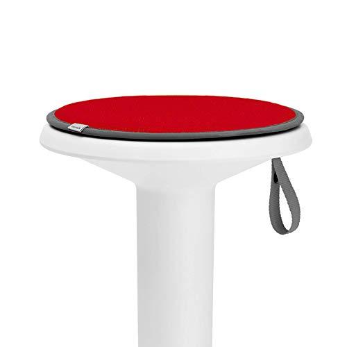 Interstuhl® UPis1 - Cojín de asiento premium – especialmente cómodo cojín para silla perfecto para taburetes, sillas, bancos y suelos