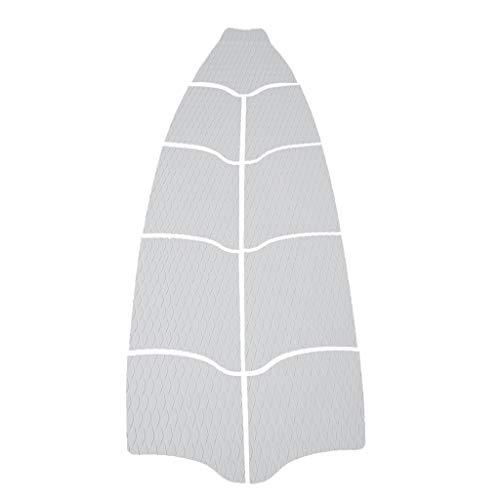 B Baosity Almohadilla de Tracción de Tabla Larga con Borde Inclinado Estera de Surf Adhesiva Suave Segura para Surfboard Kayaks