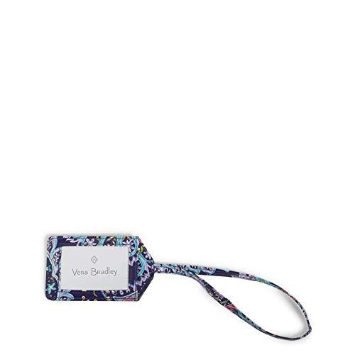 Vera Bradley Signature Cotton Luggage Tag, French Paisley