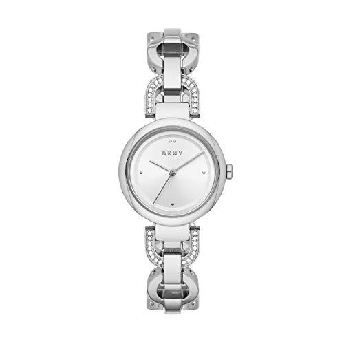 DKNY Eastside Reloj de cuarzo para mujer de acero inoxidable