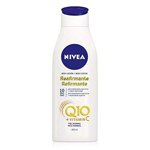 NIVEA Hautstraffende Körper Lotion mit Q10 für normale Haut, 400 ml Flasche, Body Lotion