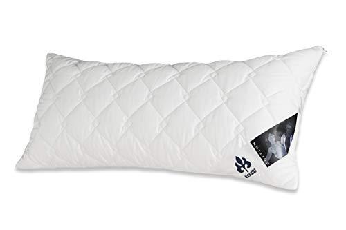 Badenia Bettcomfort 03840320108 Kissen Irisette Edition 40 x 80 cm weiß