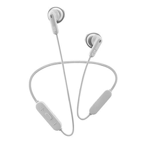JBL TUNE 215BT Cuffie Auricolari Wireless, Cuffia Auricolare senza Fili Bluetooth 5.0, con Microfono Integrato, Vivavoce e Cavo Piatto Antigroviglio, fino a 16h di Autonomia, Bianco
