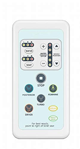 SmartBidet Remote Control Replacement for the SB-1000 Bidet Electronic Toilet Seat Remote